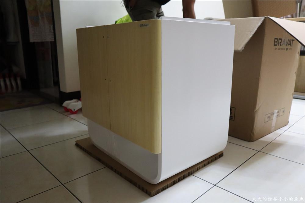 特力屋獨家代理 BRAVAT U型實木多層浴櫃  85