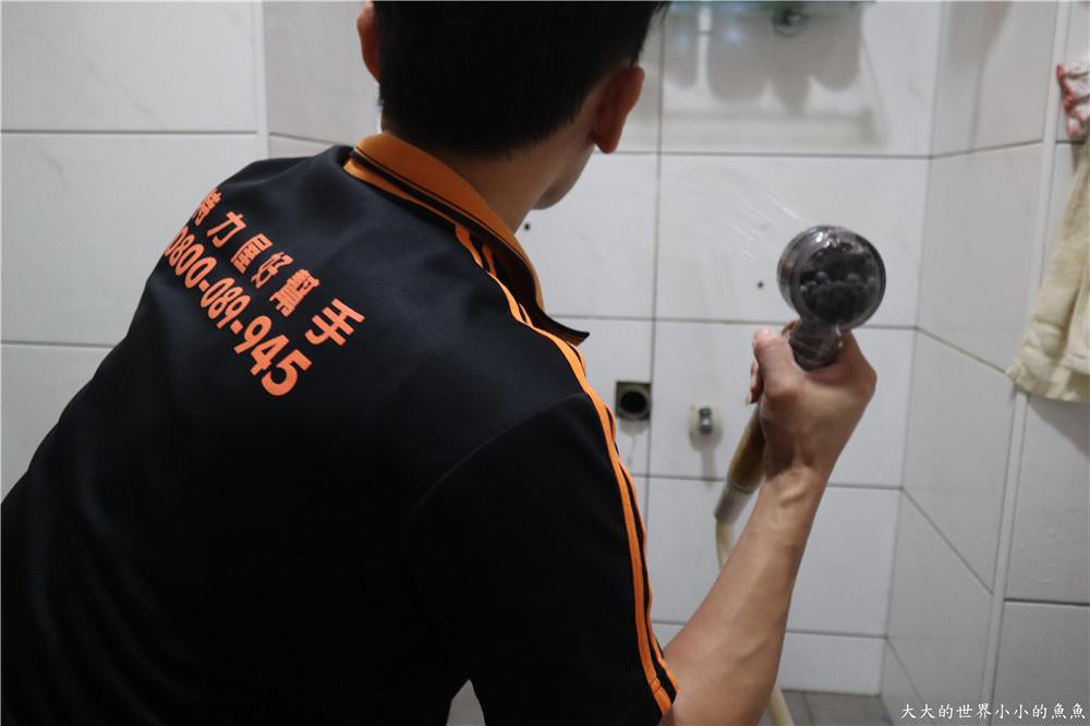 特力屋獨家代理 BRAVAT U型實木多層浴櫃  103