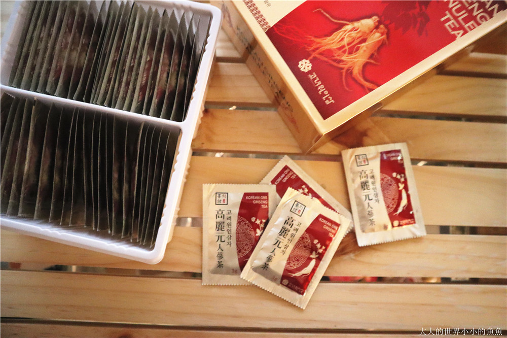 PECOPECO日本零食   高麗人蔘茶  08