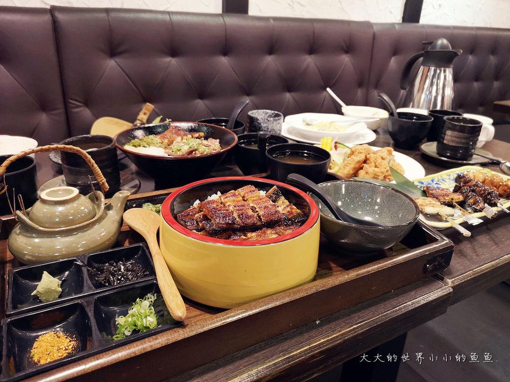 台北中山捷運站美食 日式料理浪漫鰻屋