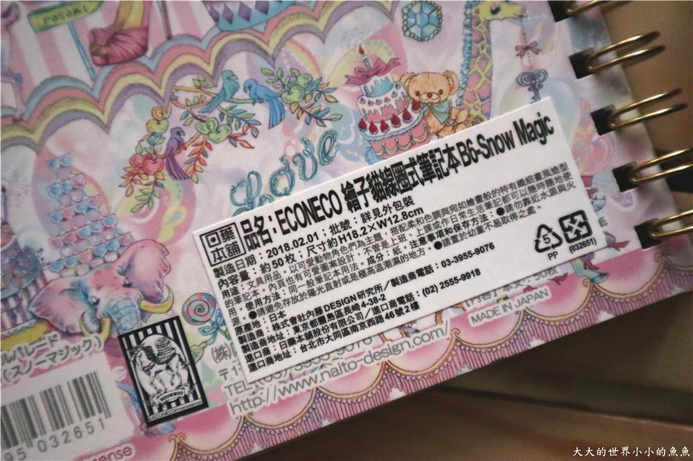 ECONECO繪子貓療癒商品組合 夢幻雜貨組11