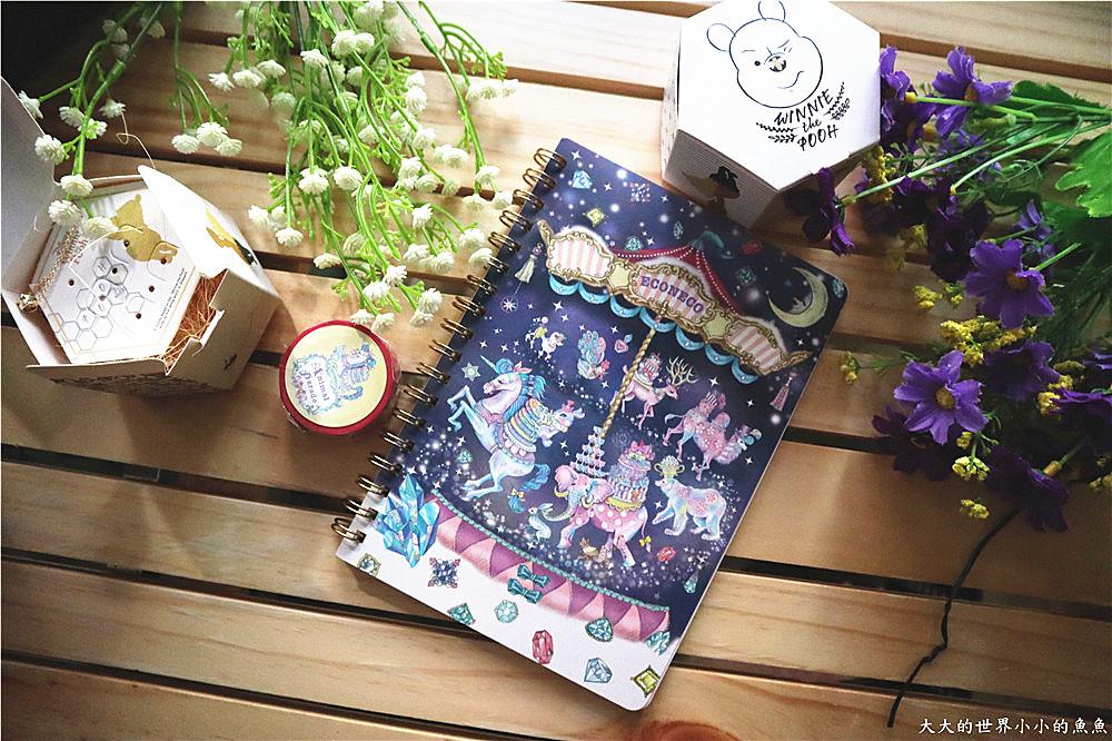 ECONECO繪子貓療癒商品組合 夢幻雜貨組07_
