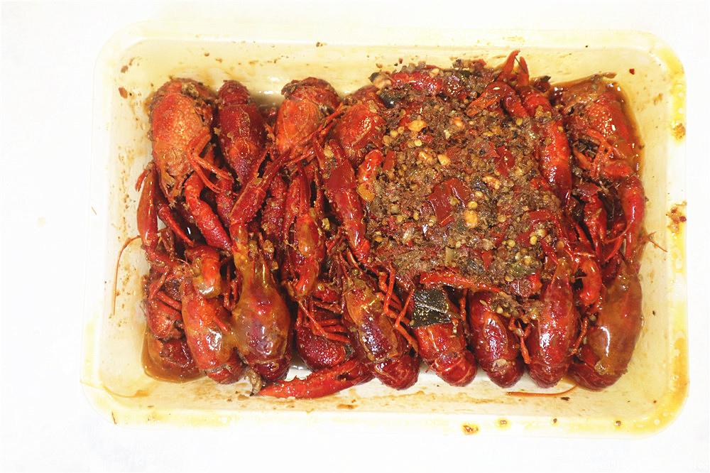 海鮮市集  十三香小龍蝦30