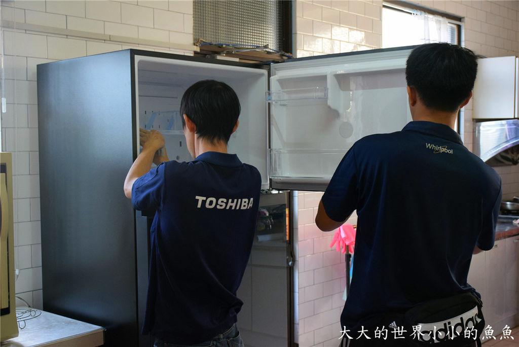 日本東芝Toshiba 雙門冰箱 25