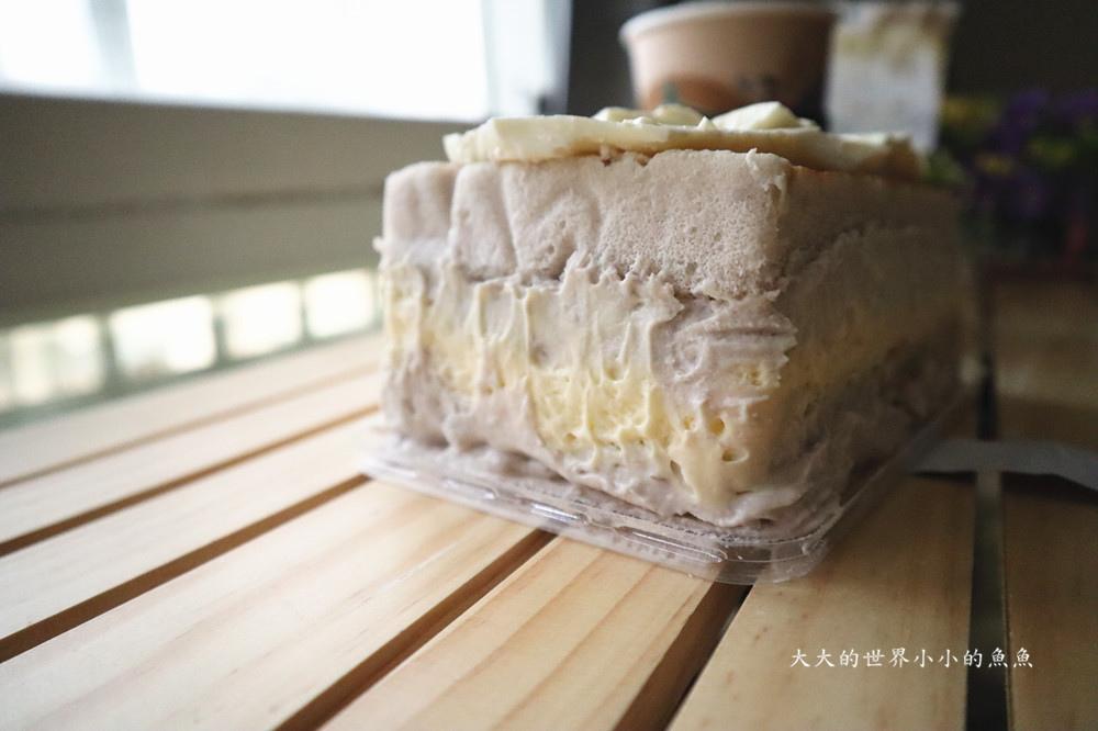 手工芋泥蛋糕盒