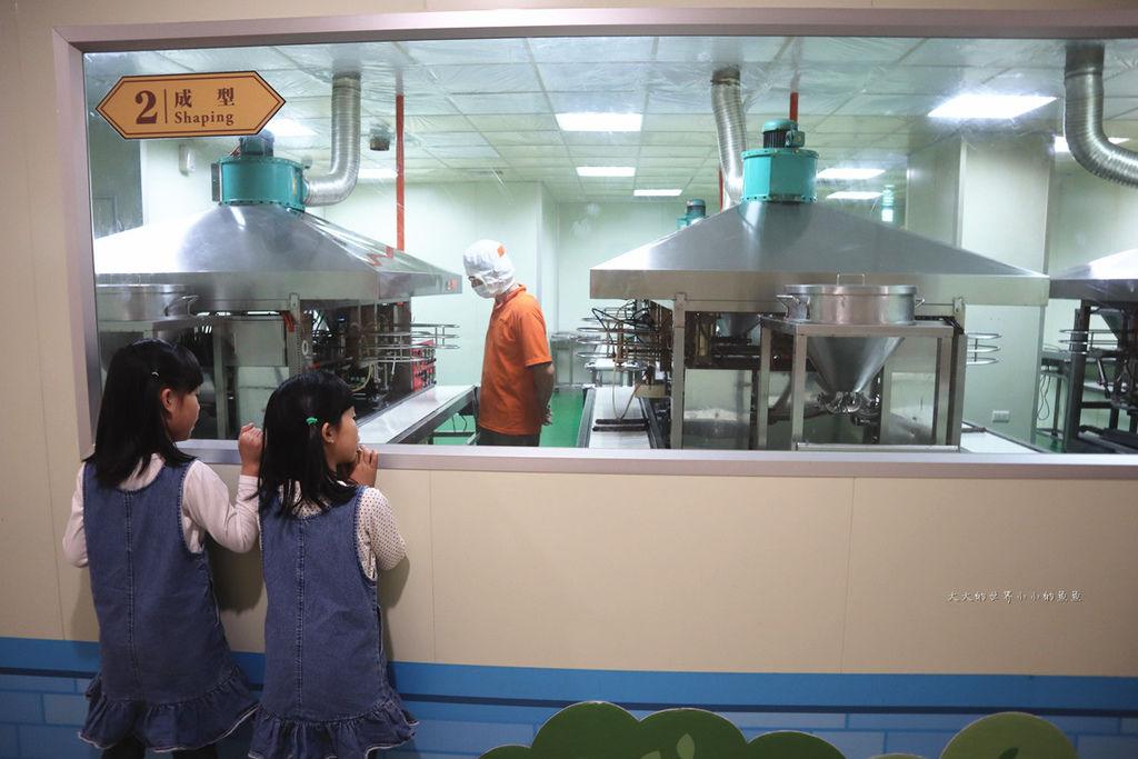 興麥蛋捲烘焙王國觀光工廠9