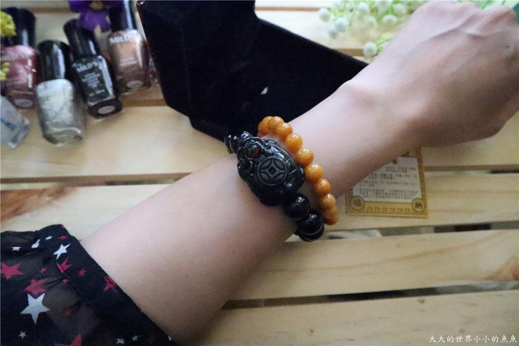 財神小舖水神運財-彩虹眼黑曜石龍龜手鍊23.jpg