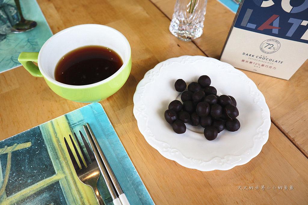 自然時記黑米菓72%黑巧克力