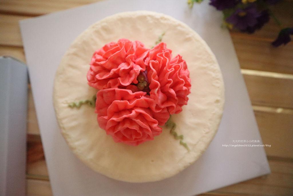 康乃馨裱花