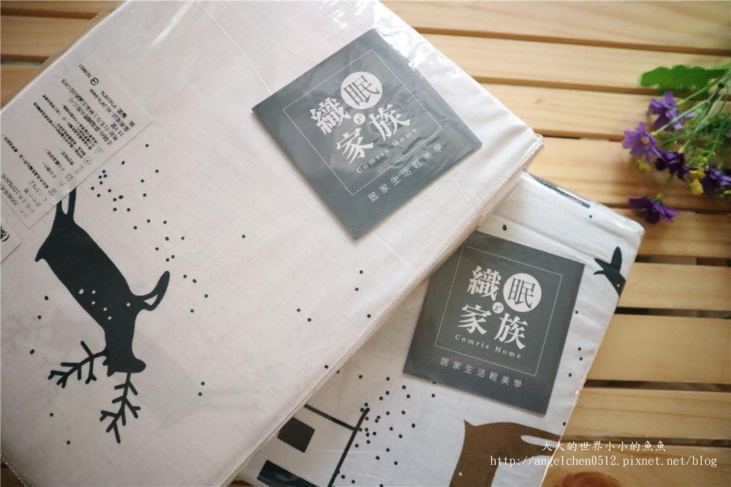 comrishome織眠家族-精梳棉200織系列精梳棉床包組 麋鹿遇見你07.jpg