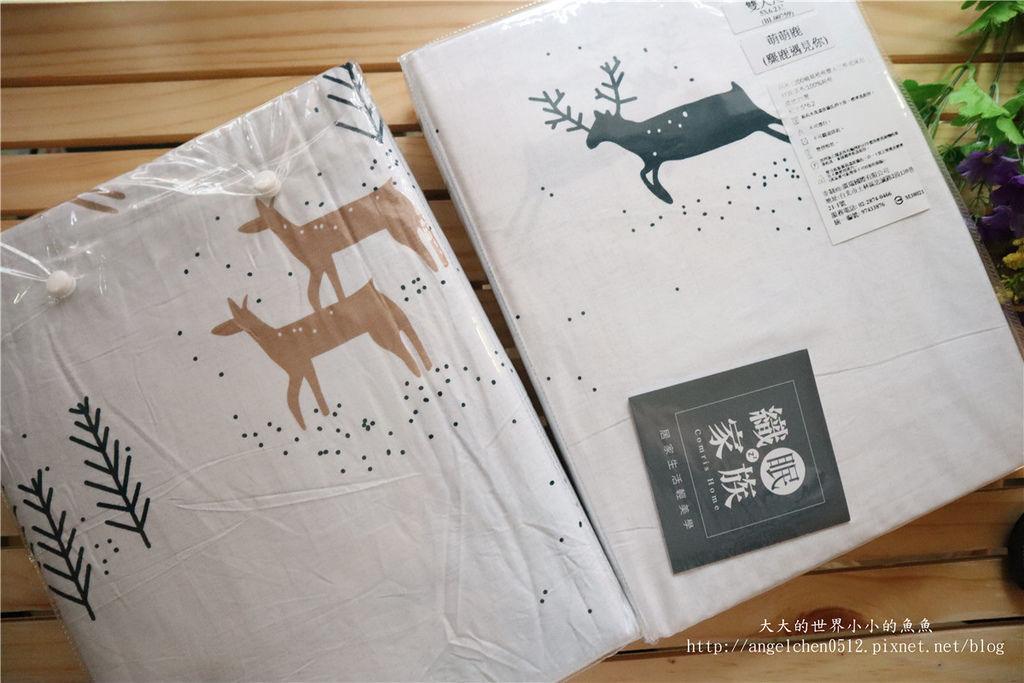 comrishome織眠家族-精梳棉200織系列精梳棉床包組 麋鹿遇見你01.jpg