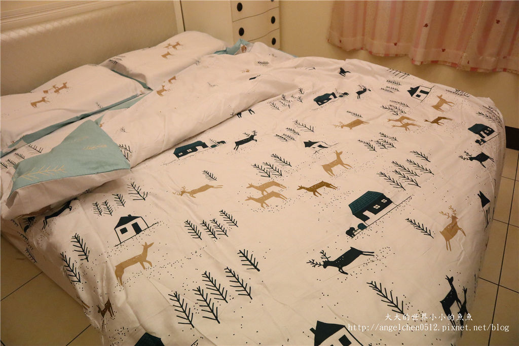 comrishome織眠家族-精梳棉200織系列精梳棉床包組 麋鹿遇見你48.jpg