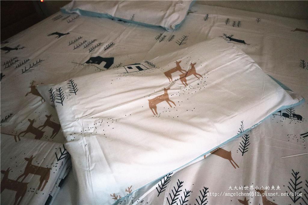 comrishome織眠家族-精梳棉200織系列精梳棉床包組 麋鹿遇見你31.jpg