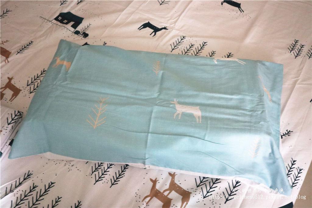comrishome織眠家族-精梳棉200織系列精梳棉床包組 麋鹿遇見你32.jpg