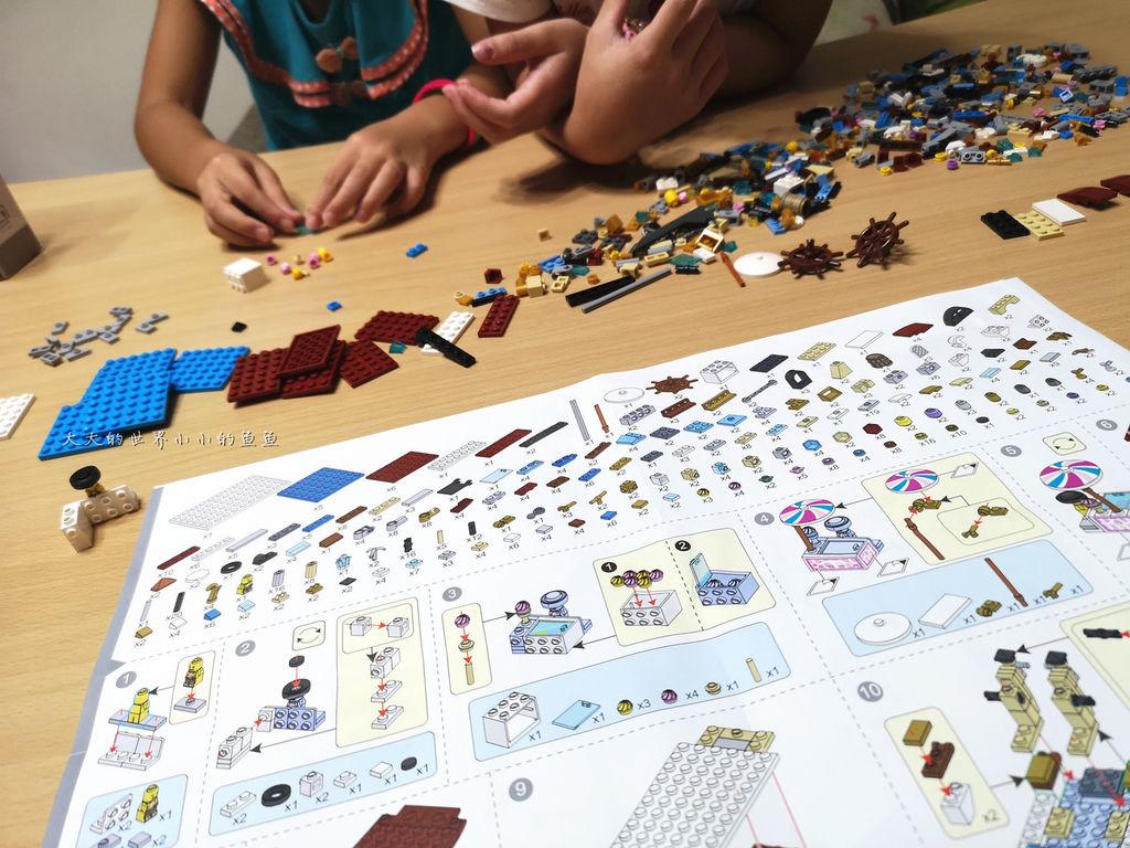 LOZ 兒童玩具迷你遊樂園迷你拼裝積木15