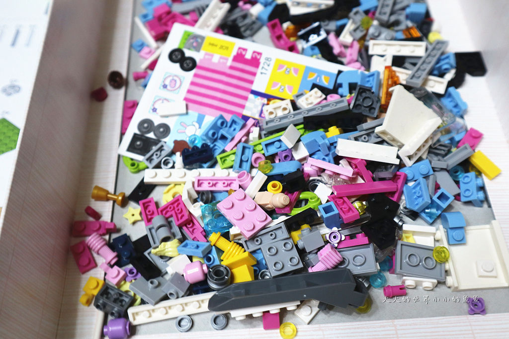 LOZ 兒童玩具迷你遊樂園迷你拼裝積木