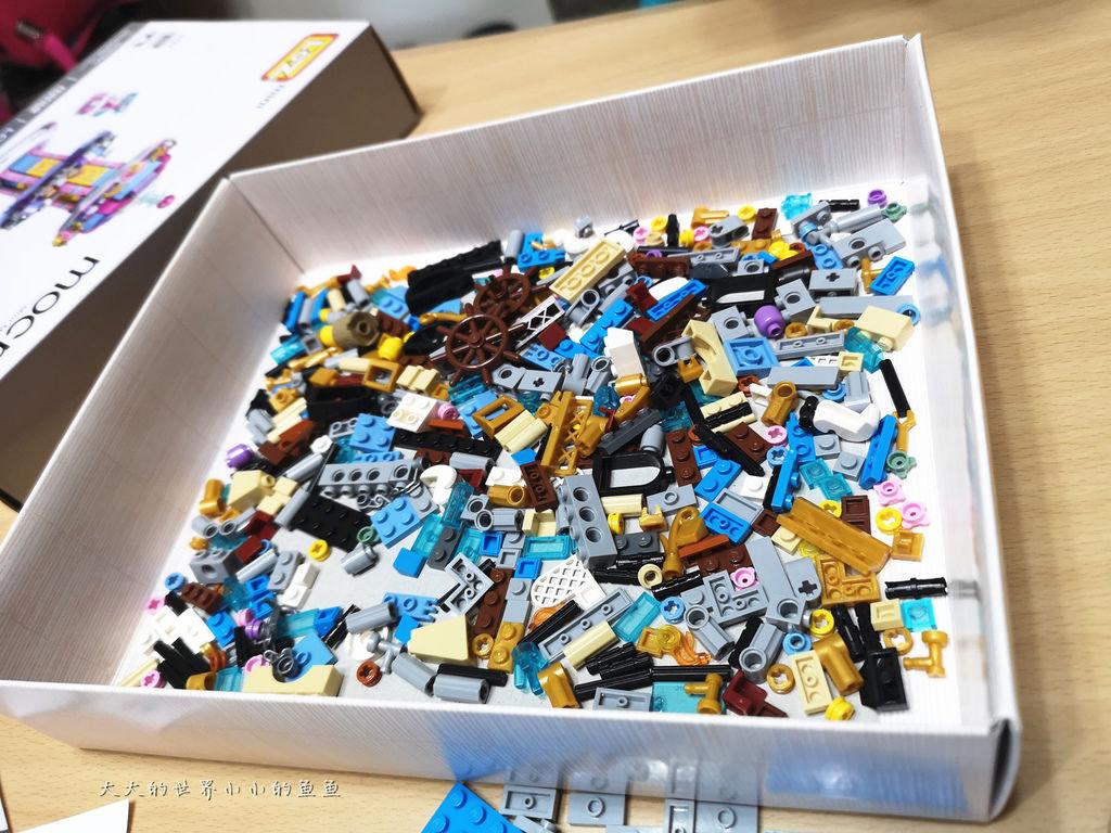 LOZ 兒童玩具迷你遊樂園迷你拼裝積木``11