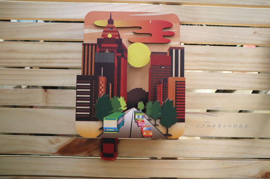 3D 畫音盒-懸日美景