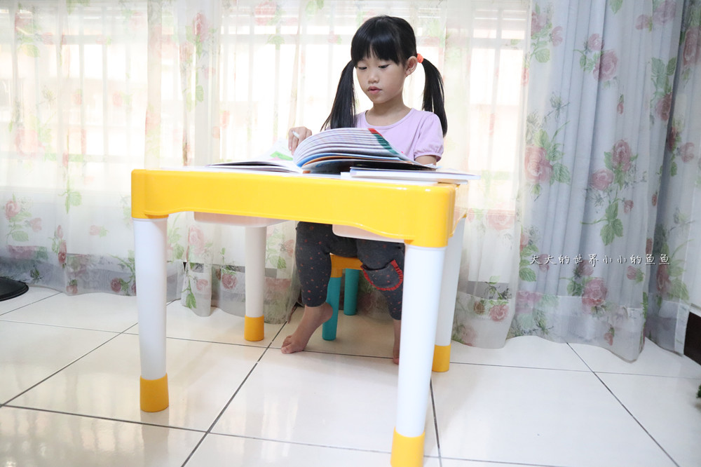 UTmall親子商城 多功能積木學習桌22