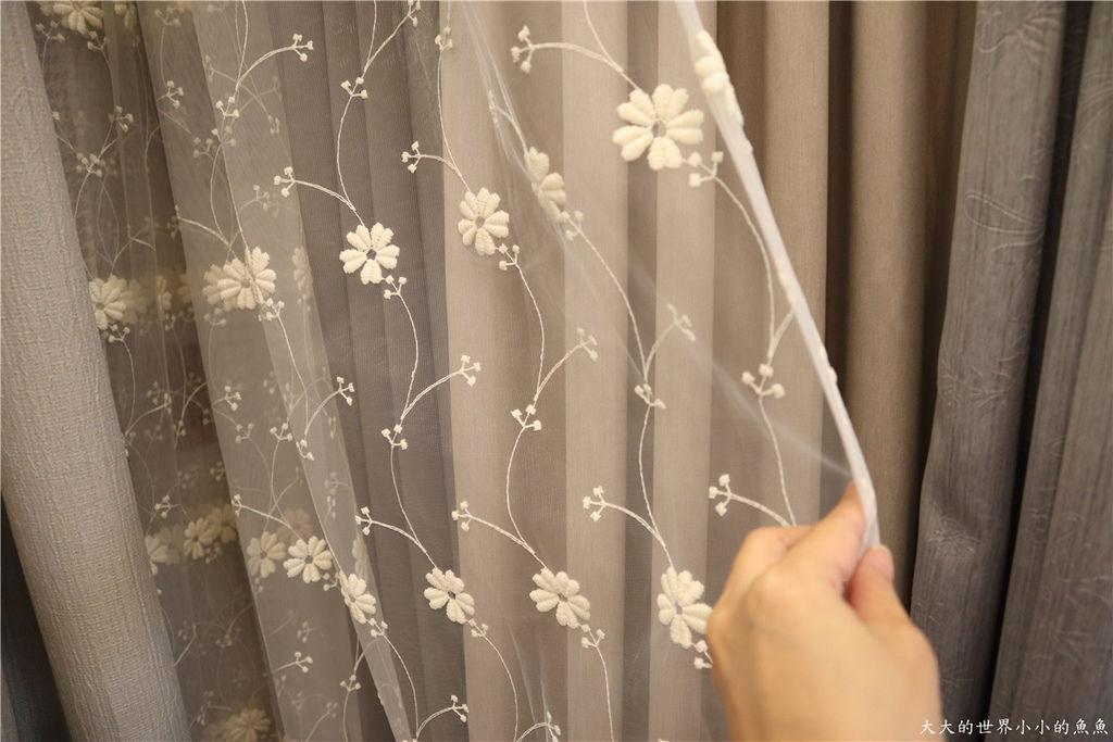 朵花窗簾80