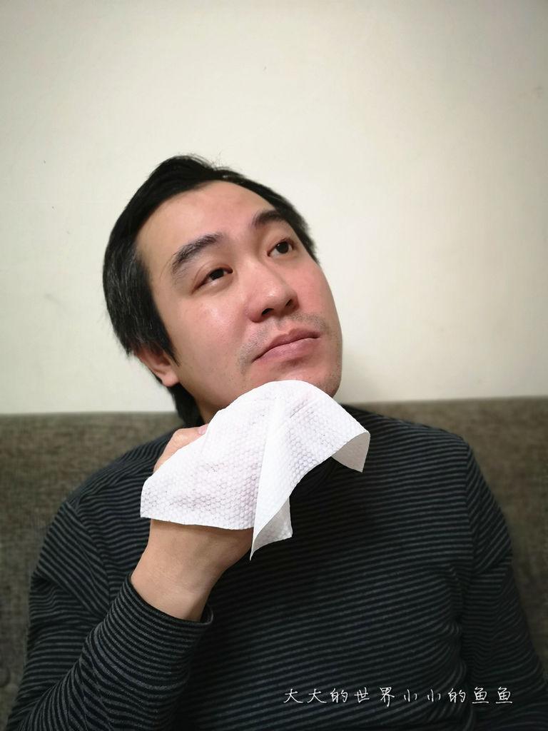 高清控油潔膚紙巾 男用控油紙巾 男神6