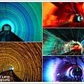 觀光隧道燈光秀