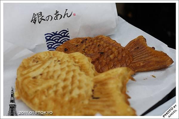 阿部寬排了三個月都吃不到的鯛魚燒...我吃到啦!!!