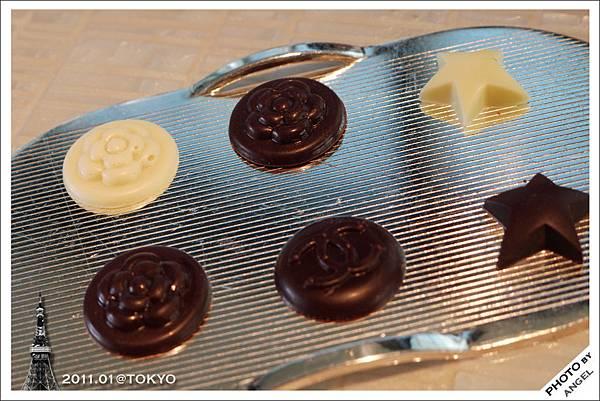 甜點-CAHNEL各式標誌巧克力