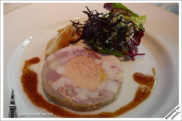 前菜-豬肉凍佐鵝肝醬