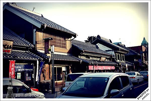 藏造一番街是最能感受江戶風情的街道