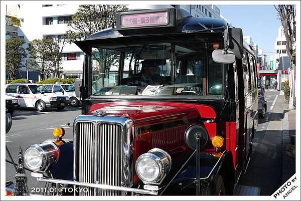 可愛的小江戶巡迴巴士