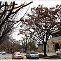 景福宮外石牆路