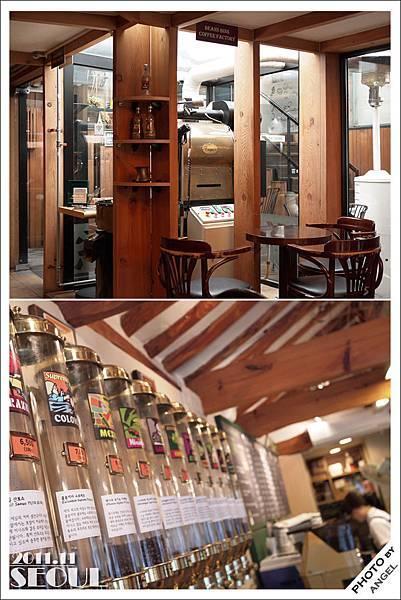 BEANSBINS CAFE店內裝潢