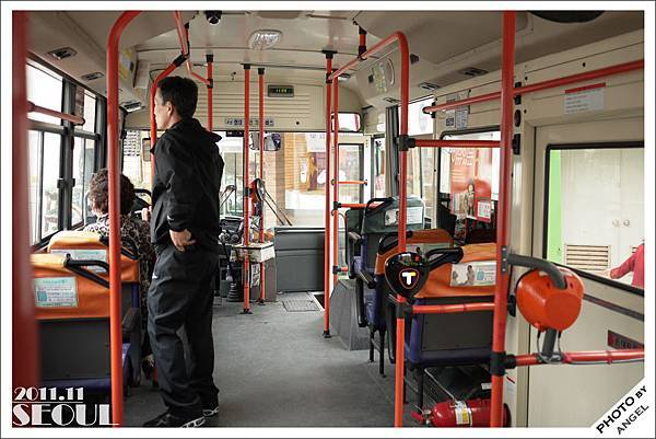 前往慶熙大學的1號綠色公車