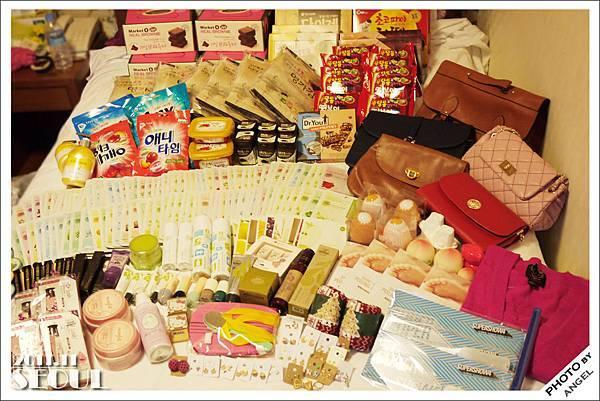 這些東西全部都是同一天買的...拿到手快廢了!!!