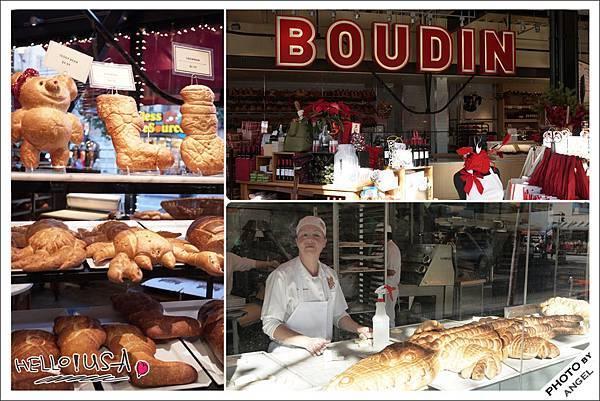 舊金山另一特產:Boudin Sourdouch波丁酸麵包