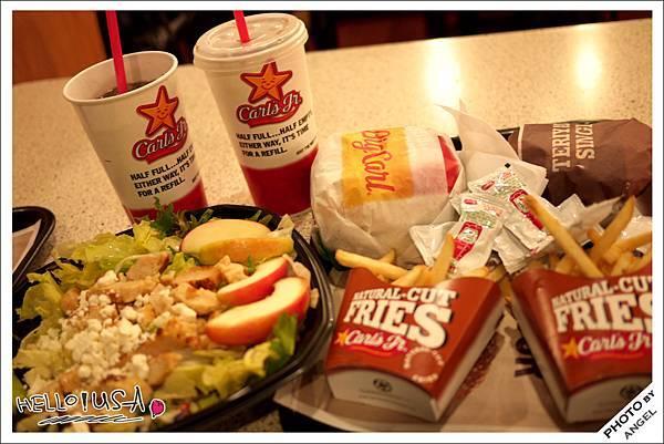 今天晚餐Carl's Jr..jpg