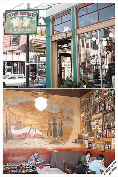 美國西岸最老的咖啡廳-Caffee Trieste.jpg