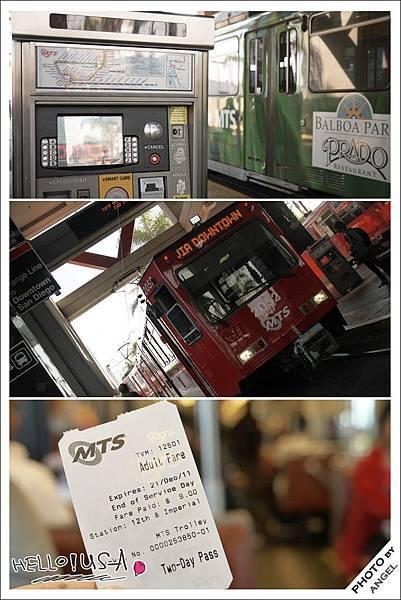 聖地牙哥市區交通全靠它---TROLLEY電車.jpg