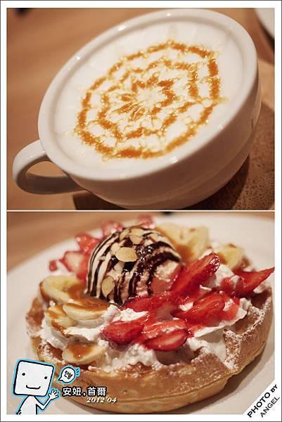 草莓香蕉鬆餅好好吃.jpg