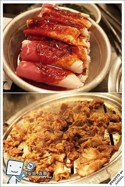 辣味醃肉片吃起來有蒙古烤肉的FU