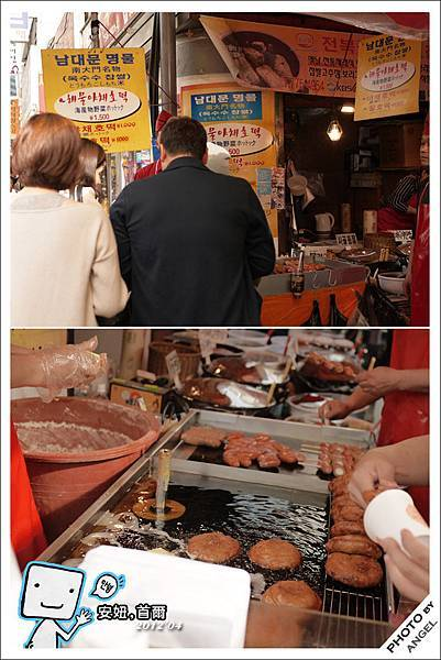 另一攤有名的韓式甜甜圈