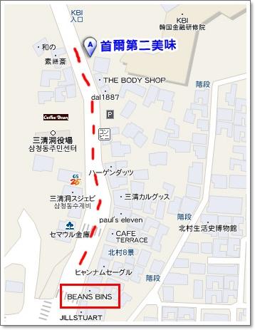 首爾第二map