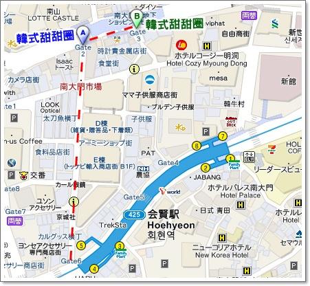 甜甜圈map