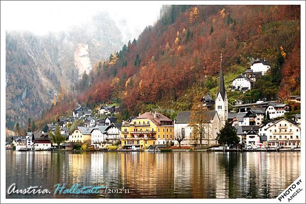 果然是歐洲最美的湖邊小鎮