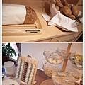 麵包+優格穀片