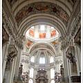 大教堂是莫札特受洗的教堂