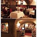 餐廳是由洞穴改建而成
