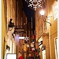 夜晚的格特萊第街