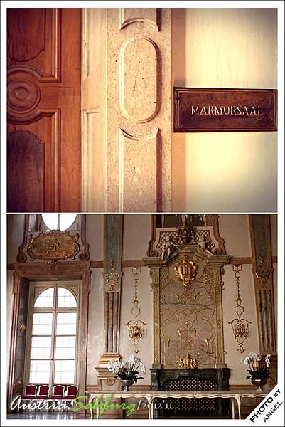 有「最美的婚體大廳」之稱的大理石室